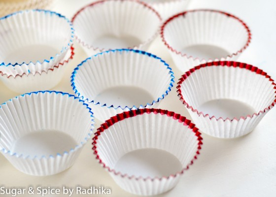 How to decorate cupcake liners at home (easy)