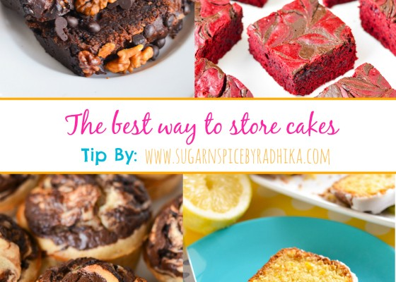 Best Way to Store Cakes