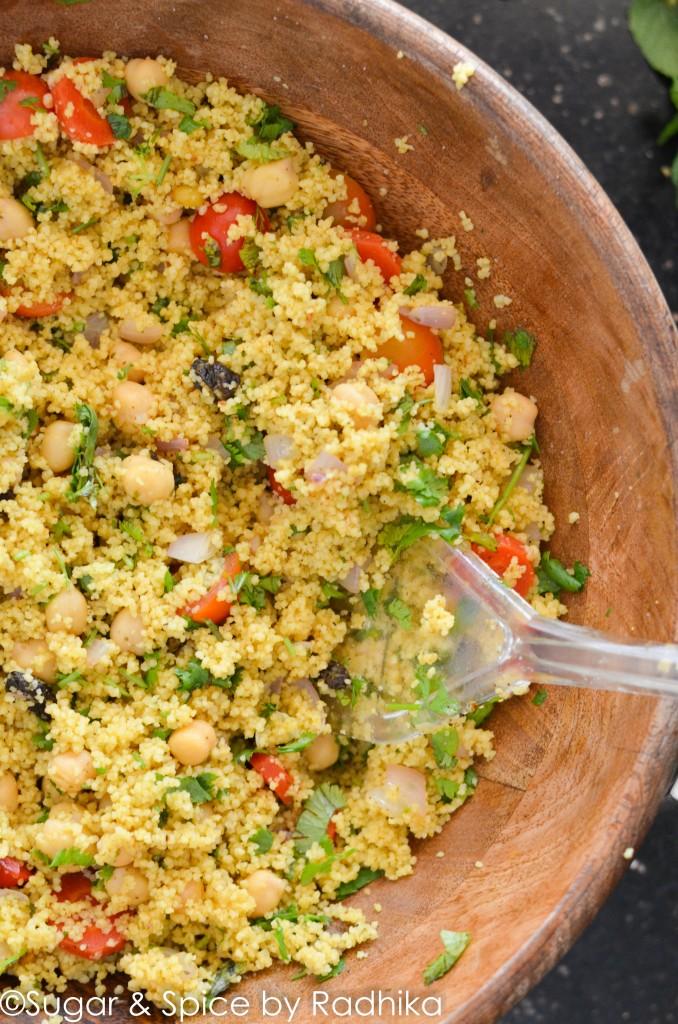 10-minute couscous salad